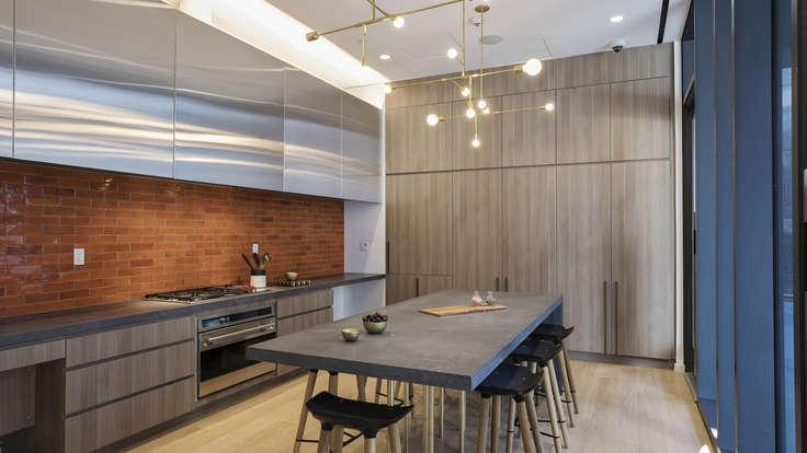 Rentals at 250 Ashland Place in Brooklyn - Open Kitchen