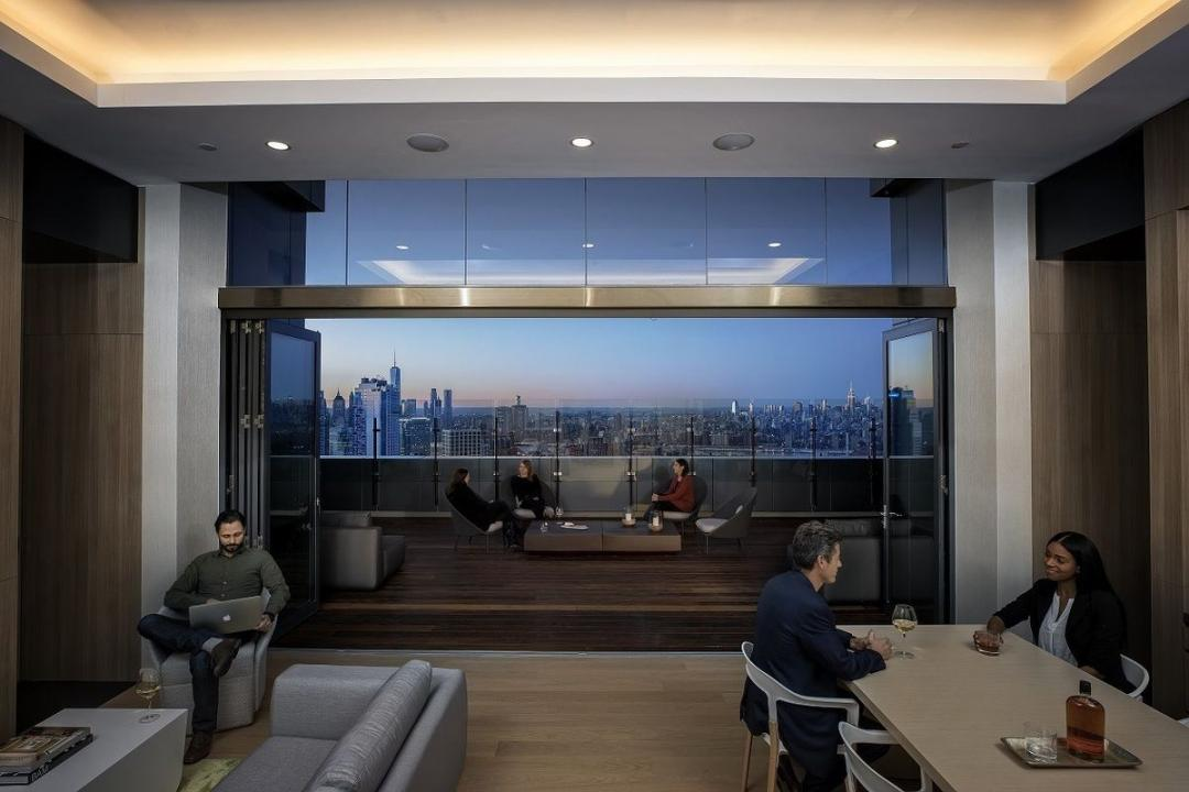 Lounge at 250 Ashland Place in NYC - Apartments for rent
