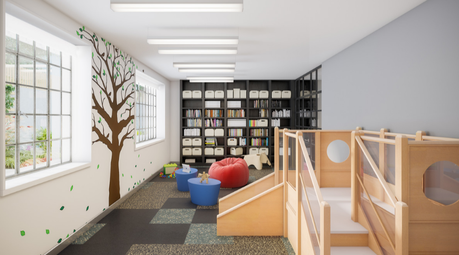 Children's Play Room at 25 Monroe Place in Brooklyn Heights