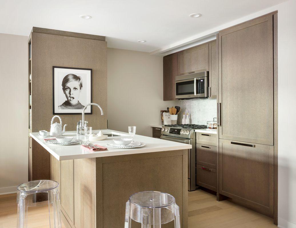 Open Kitchen at 261 Hudson Street in Manhattan - Apartments for rent