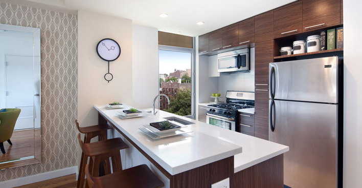 267 6th Street kitchen- Park Slope condo for rent