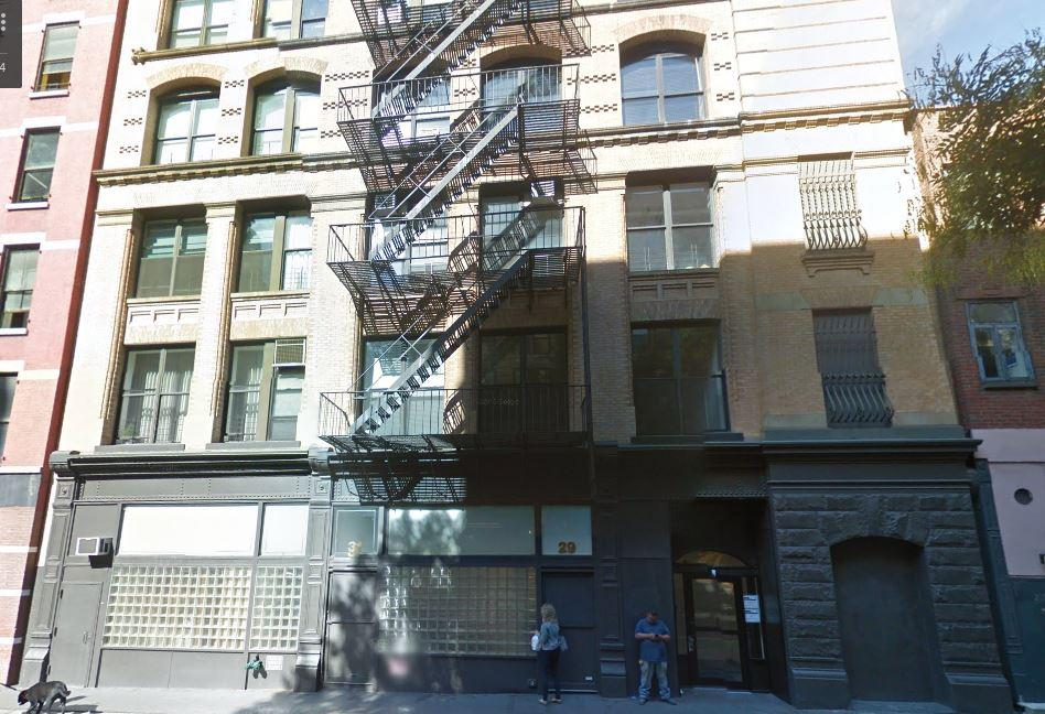 Exterior of 27 Bleecker Street, Loft Style Apartment for Rent in NYC