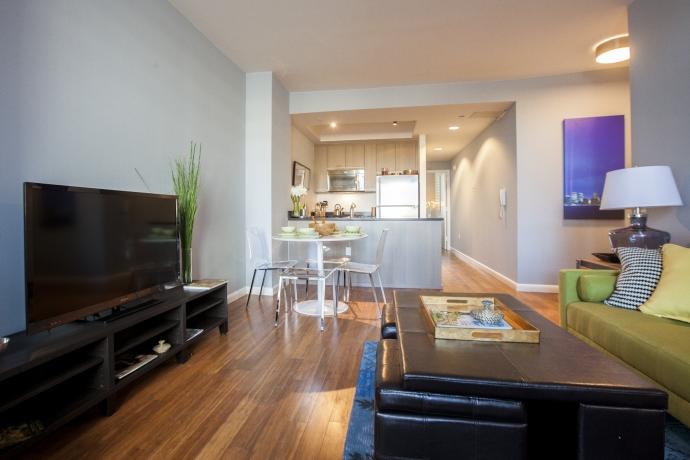 29 Flatbush Avenue- Living Room- Brooklyn apartments for rent