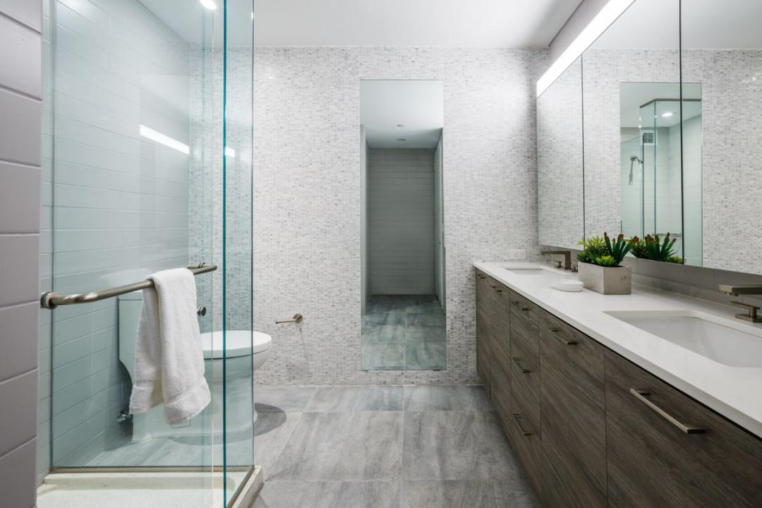 Bathroom at Level - 2 North 6th Place apartments for rent