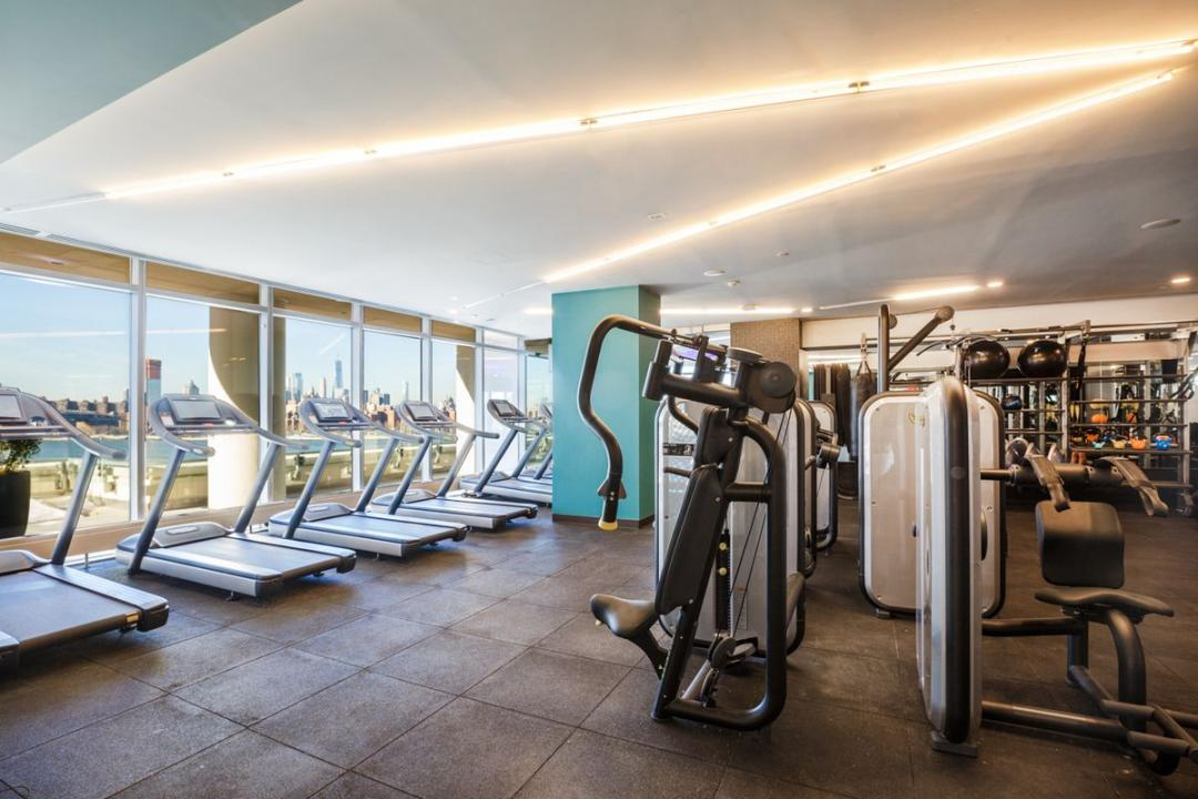 Gym at Level - 2 North 6th Place apartments for rent