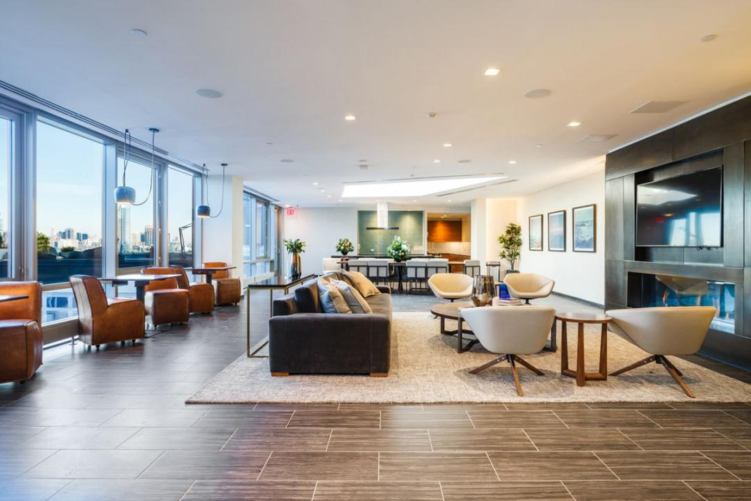Lounge at Level - 2 North 6th Place apartments for rent