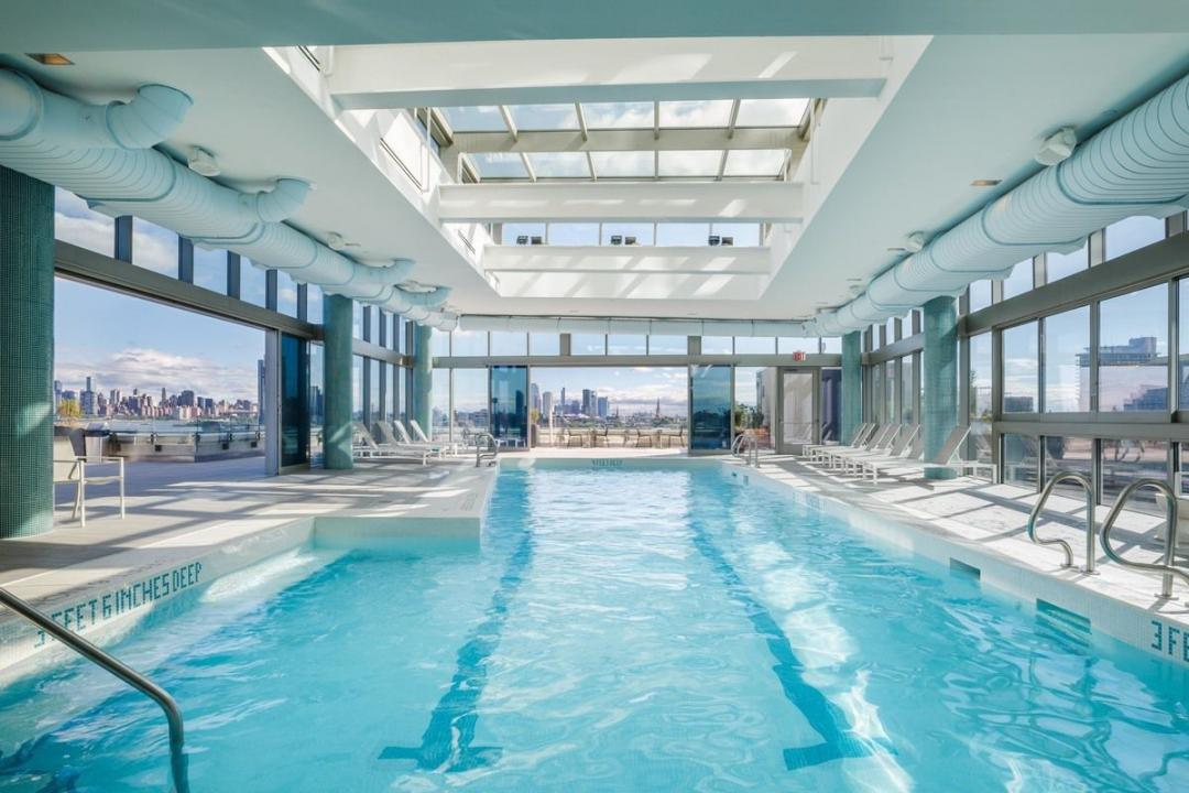 Swimming pool at Level - 2 North 6th Place apartments for rent