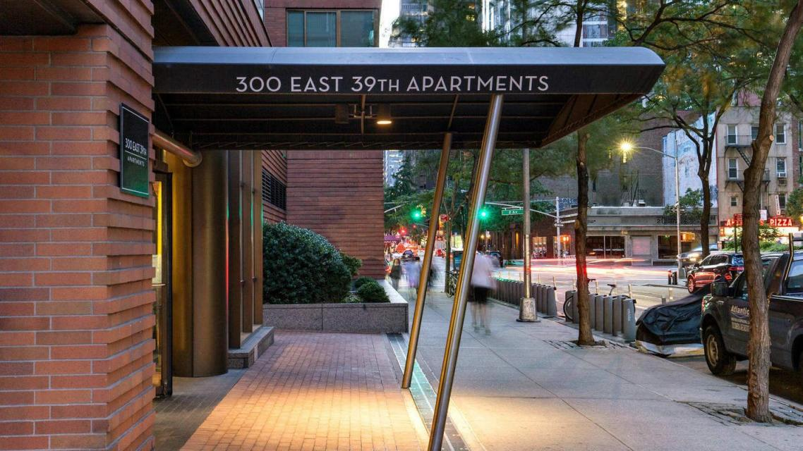 300 East 39th Street Entrance - Manhattan Apartments for rent