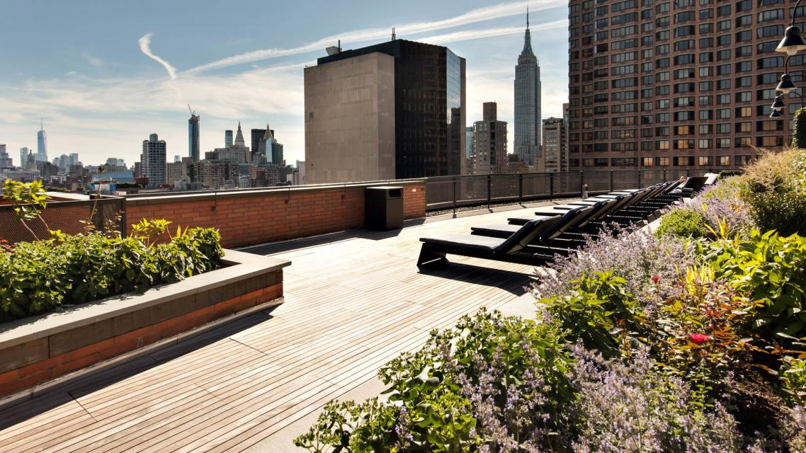 300 East 39th Street Rooftop Terrace - 300 East 39th Street apartments for rent