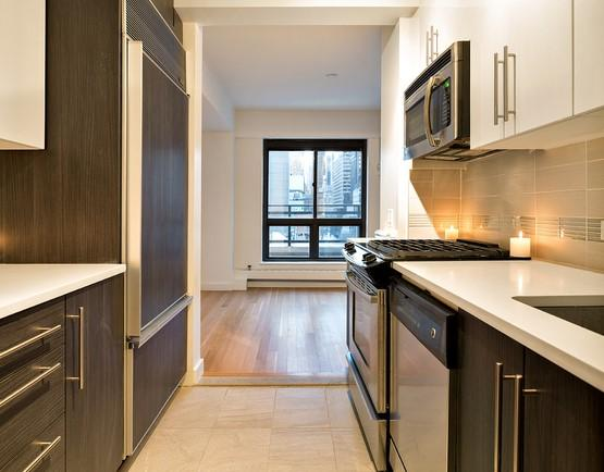 Kitchen at 300 East 51st Street - NYC Rental Apartments