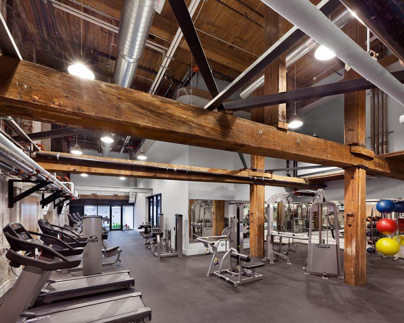 The Building's Gym at 30 Washington Street