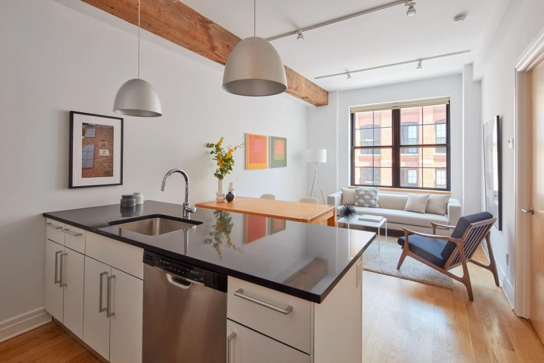 30 Washington Street Apartment Kitchen