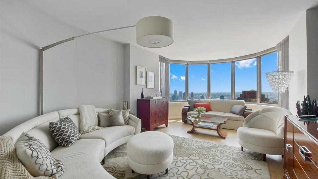 Apartments for rent at The Corinthian - Living room