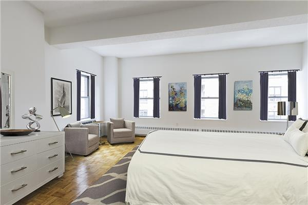 Rentals at 360 West 34th Street in Manhattan - Bedroom