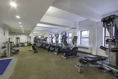 Fitness Center at 360 West 34th Street in Manhattan