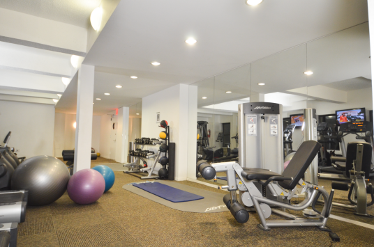 Rentals at 360 West 34th Street in NYC - Fitness Center