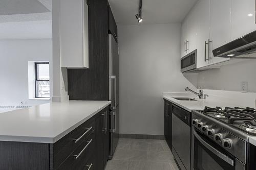 Rentals at 360 West 34th Street in Hudson Yards - Kitchen