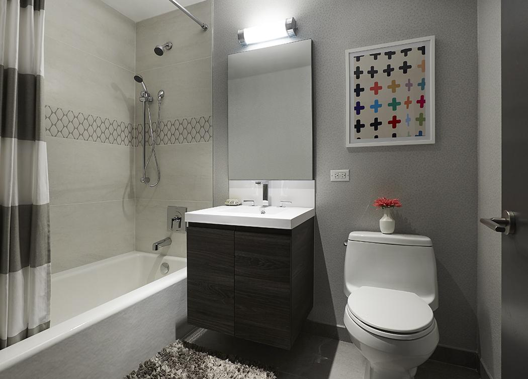 Apartments for rent at 363-365 Bond Street in Gowanus - Bathroom