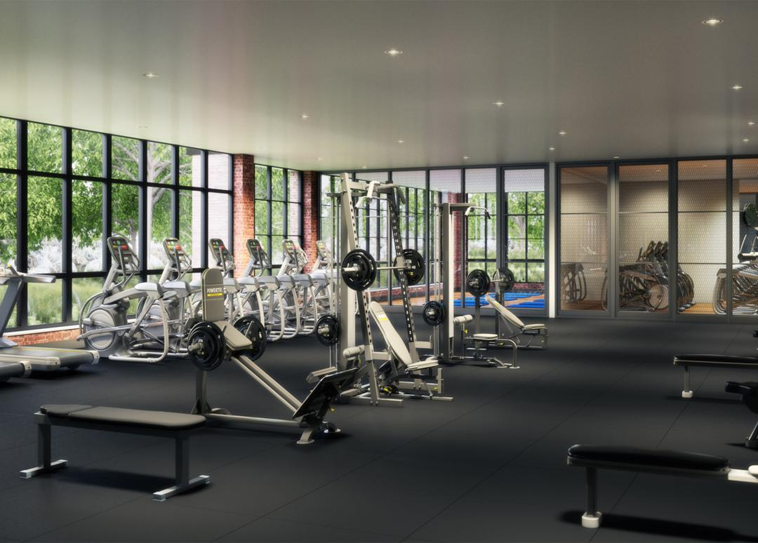 Fitness Center at 363-365 Bond Street in Brooklyn  - Apartments for rent