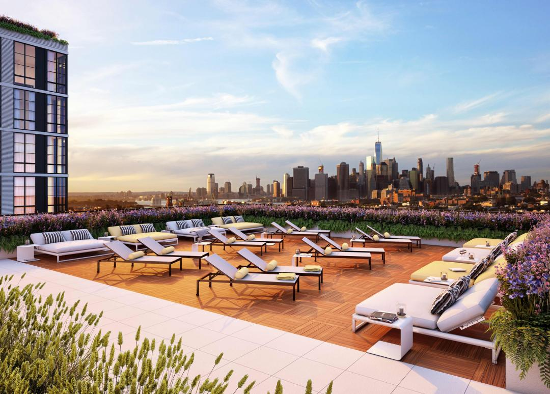 Rentals at 363-365 Bond Street in NYC - Rooftop Deck
