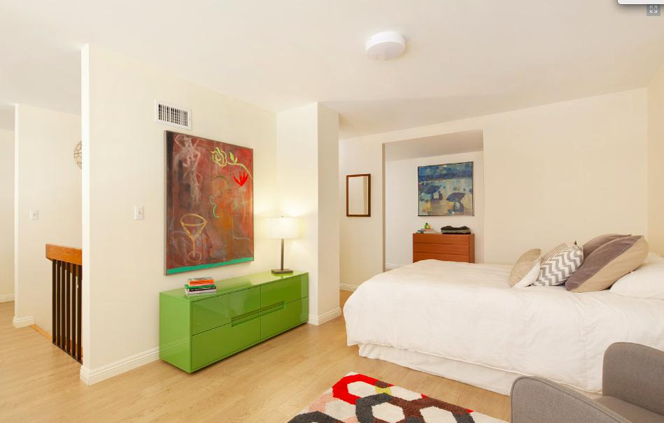 Sleeping area at 371 Madison Street
