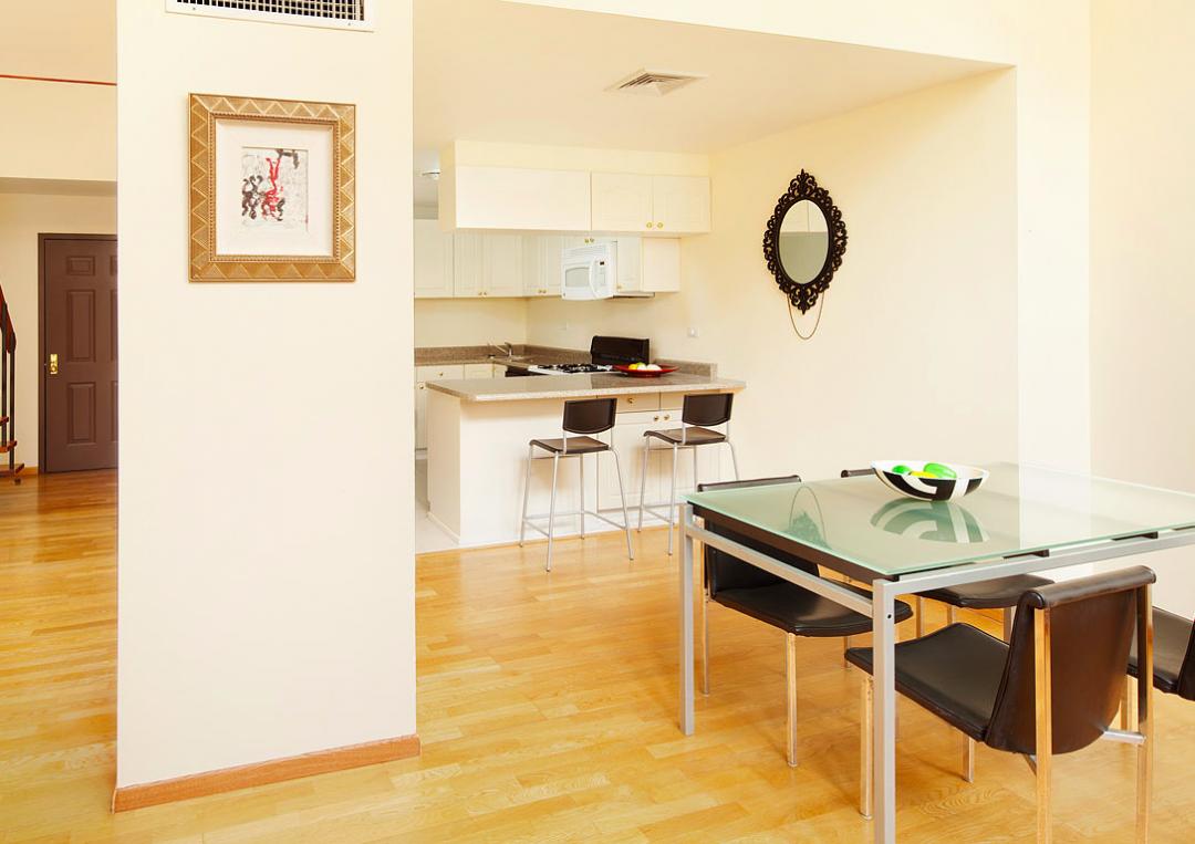 Kitchen at 371 Madison Street