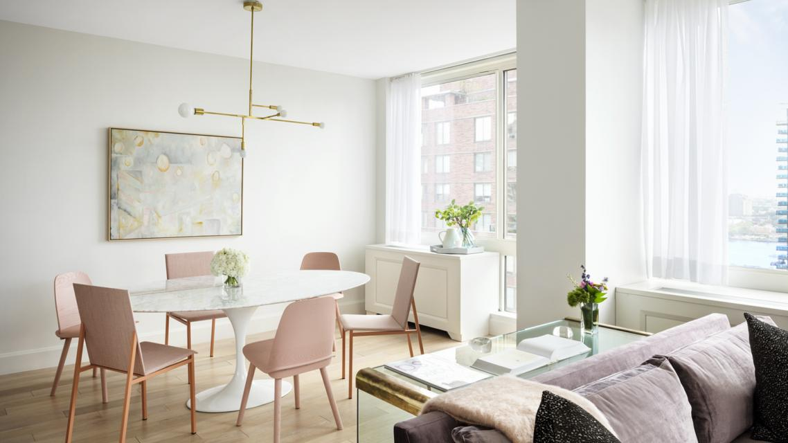 389 East 89th Street apartments for rent Dining Area