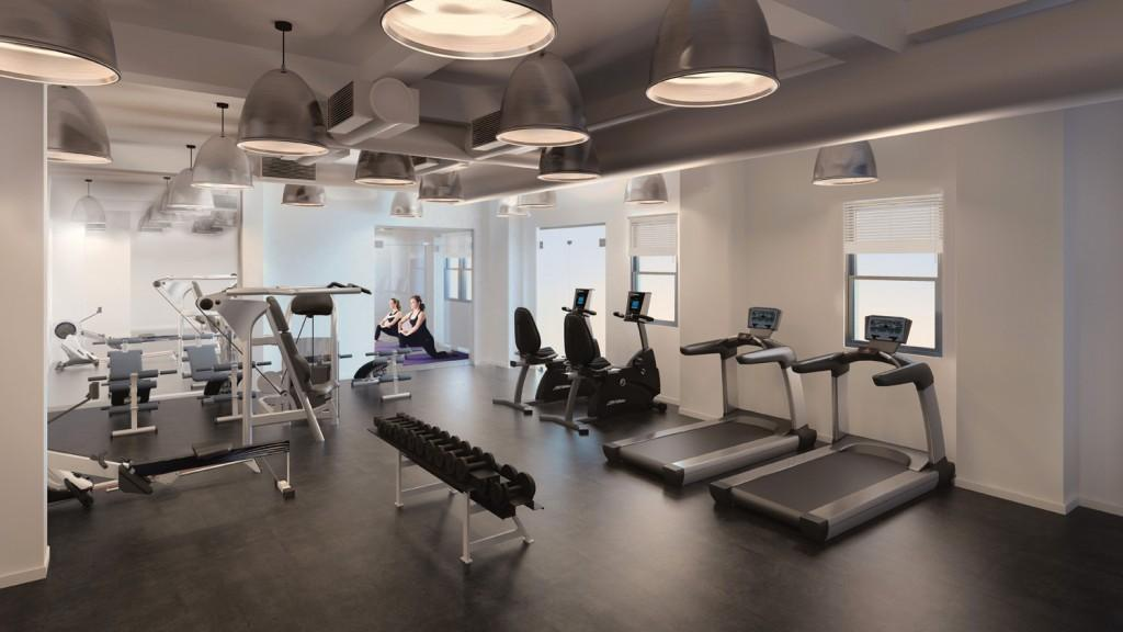 Fitness Center at 393 West End Avenue in NYC - Condos for rent