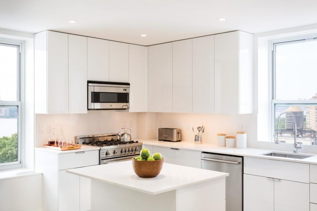Open Kitchen at 393 West End Avenue in Upper West Side - Apartments for sale