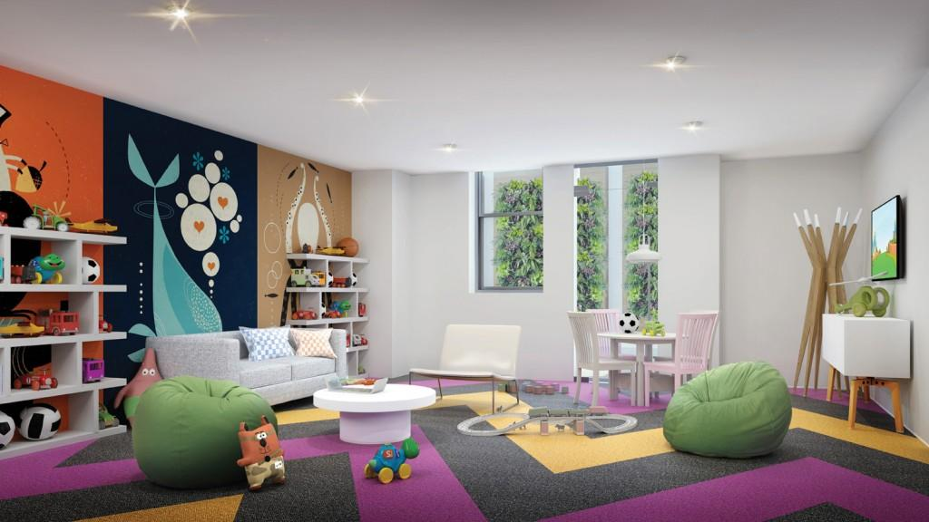 Apartments for rent at 393 West End Avenue in NYC - Children's Playroom