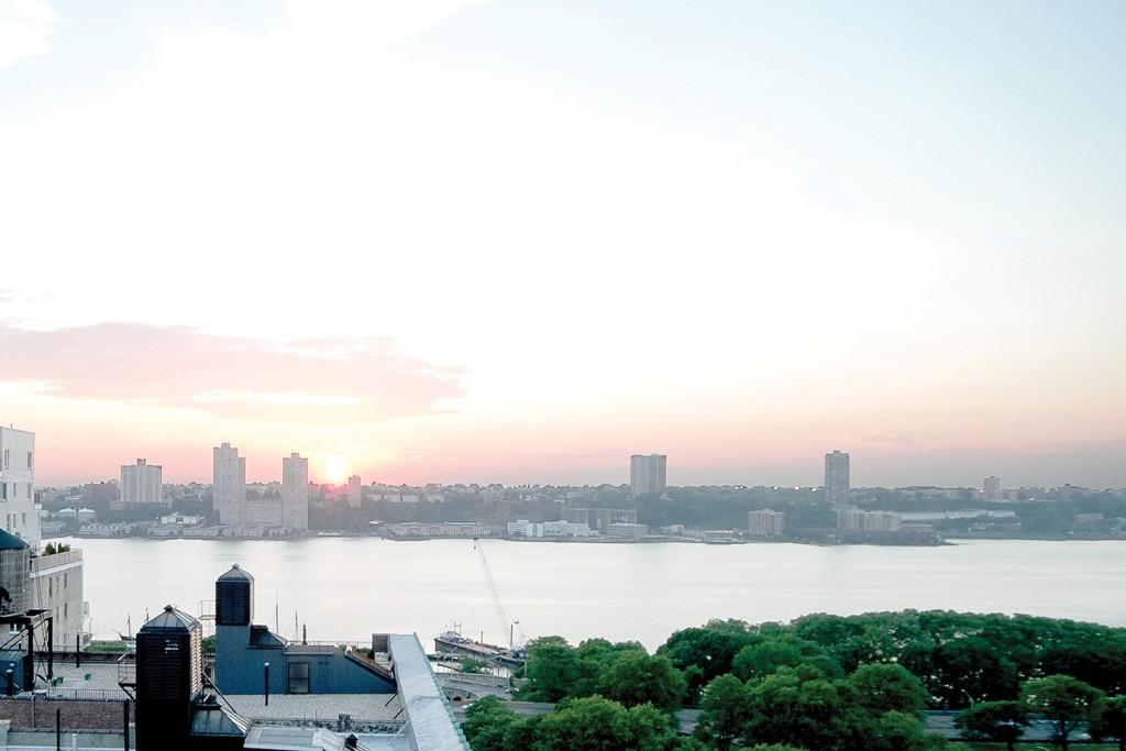 Stunning views from 393 West End Avenue in NYC