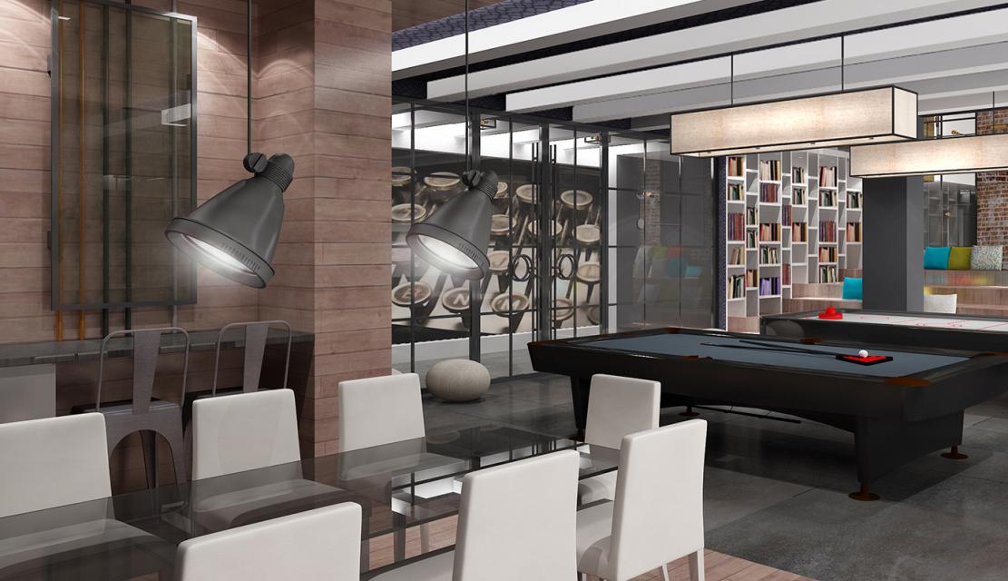 Wide Variety of amenities - Billiard Room