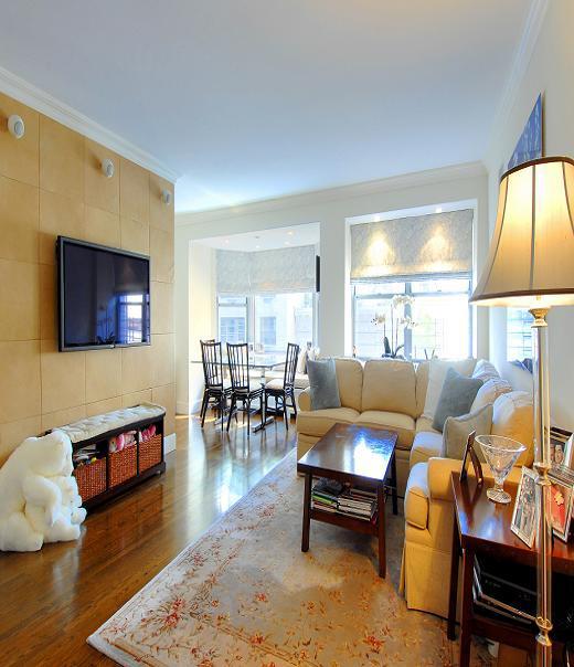 4 Park Avenue Living Room - Manhattan Apartments for rent