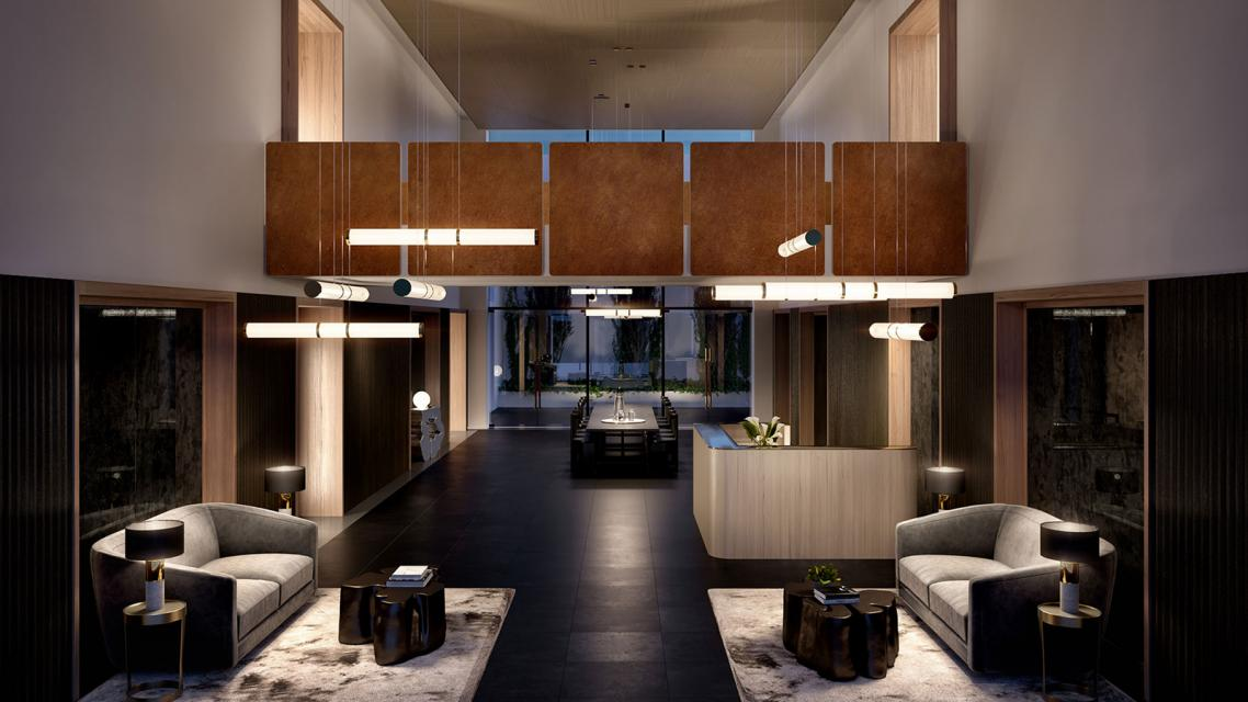 Apartments for rent at The Lewis in Hudson Yards - Lobby