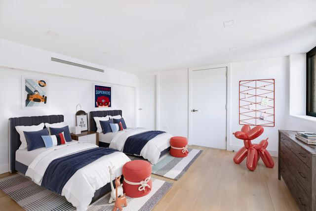 Bedroom- 421 Hudson Street- NYC condo for sale