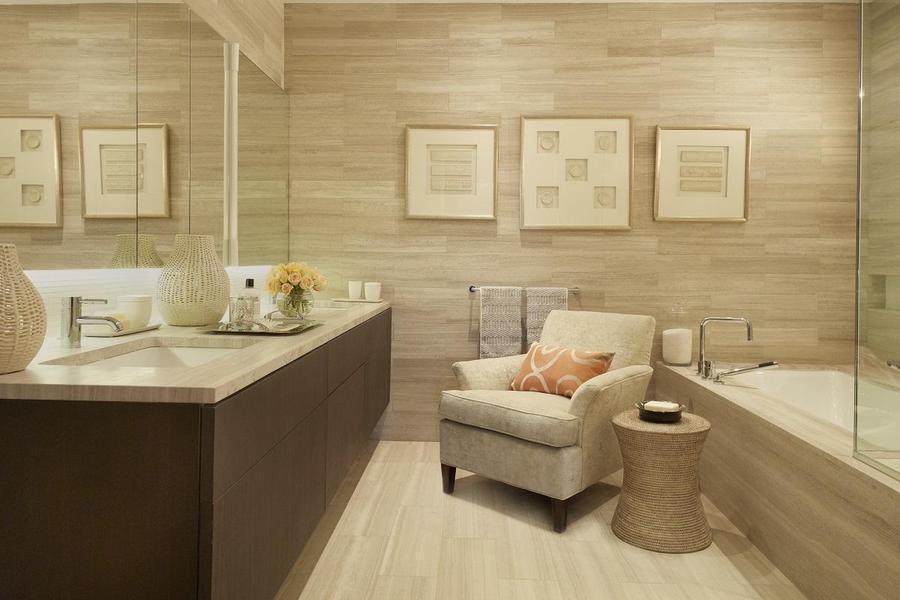 Bathroom - Luxury Rentals at Printing House