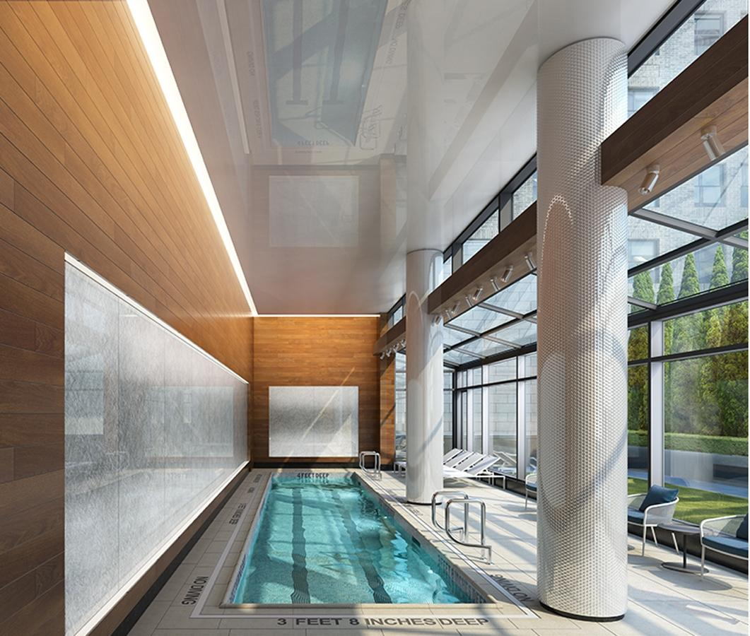 Pool at 42 West 33rd Street in NYC - Apartments for rent