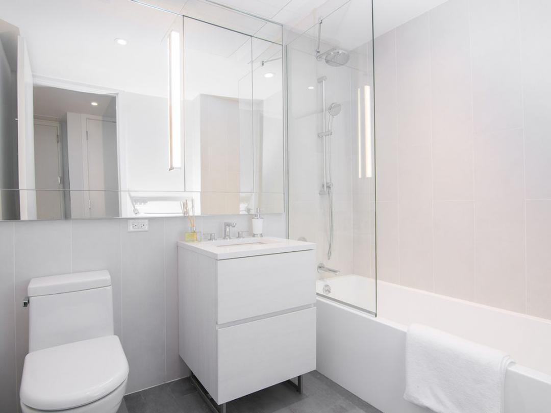 Apartments for rent at 430 Albee Square in NYC - Bathroom