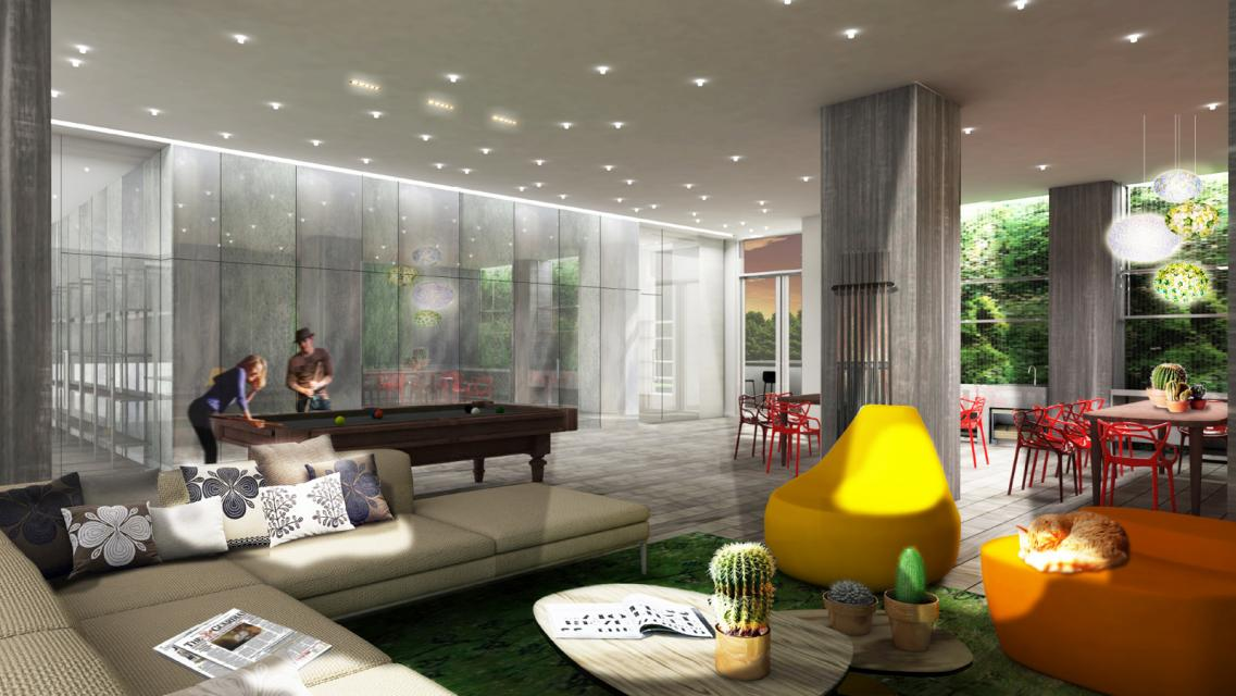 Apartments for rent at 430 Albee Square in Downtown Brooklyn - Lounge