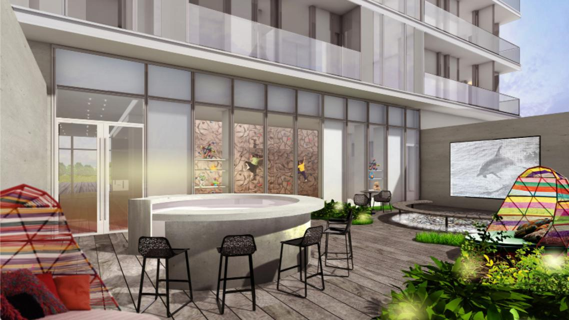 Terrace at 430 Albee Square - Downtown Brooklyn Apartment Rentals