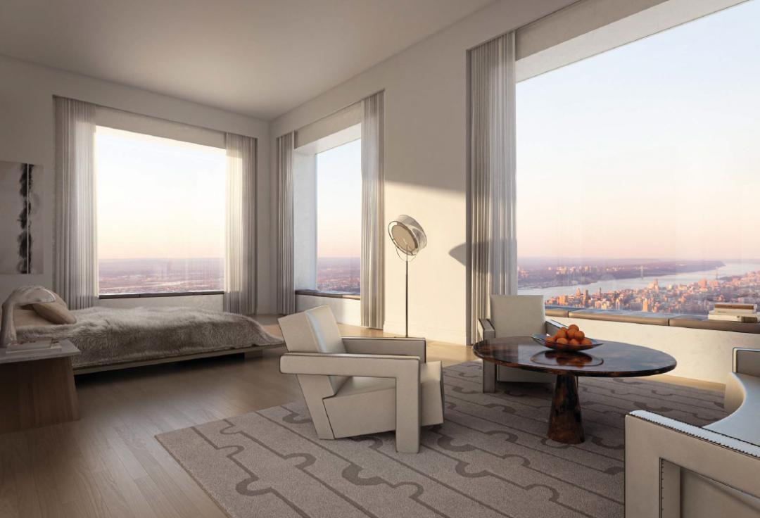 Bedroom- 432 Park Avenue- nyc condo for sale