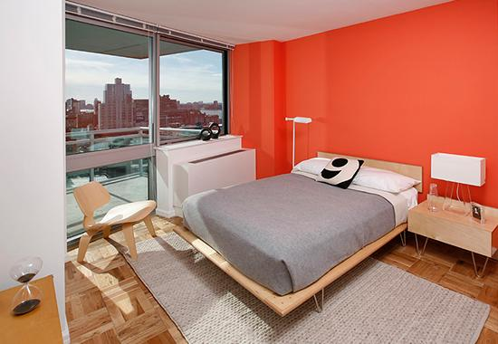 Bedroom at Hudson Yards in Manhattan - Condos for rent