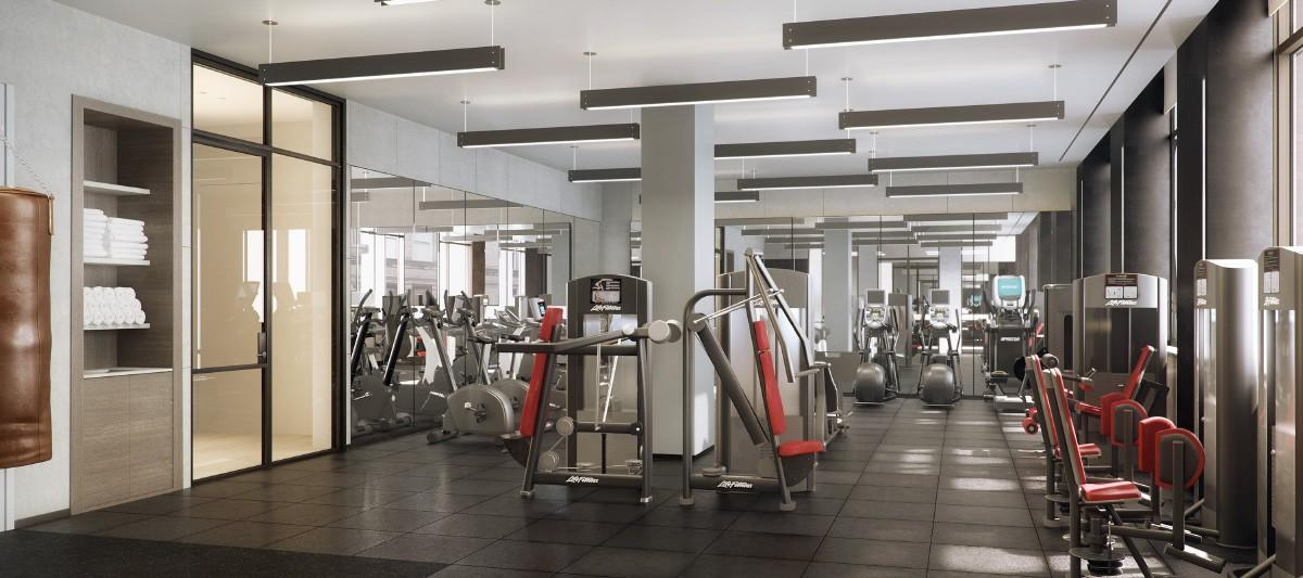 Condos for rent at 456 Washington Street in Tribeca - Fitness Center