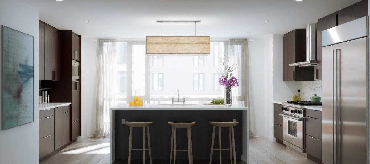 Open Kitchen at 456 Washington Street in Tribeca