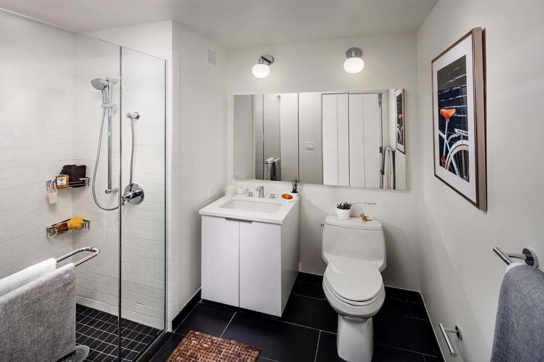 Bathroom at Hoyt and Horn in Downtown Brooklyn - Apartments for rent