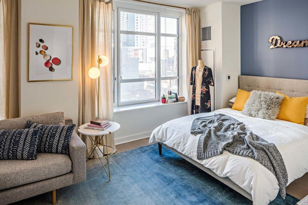Apartments for rent at 45 Hoyt Street in NYC - Bedroom