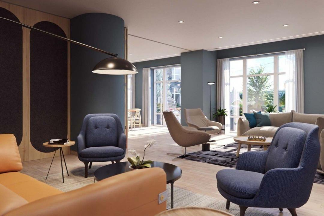 Lounge at Hoyt and Horn in Brooklyn - Apartments for rent