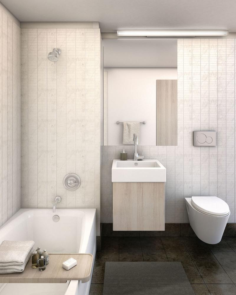 Condos for rent at 461 Dean Street in Prospect Heights - Bathroom