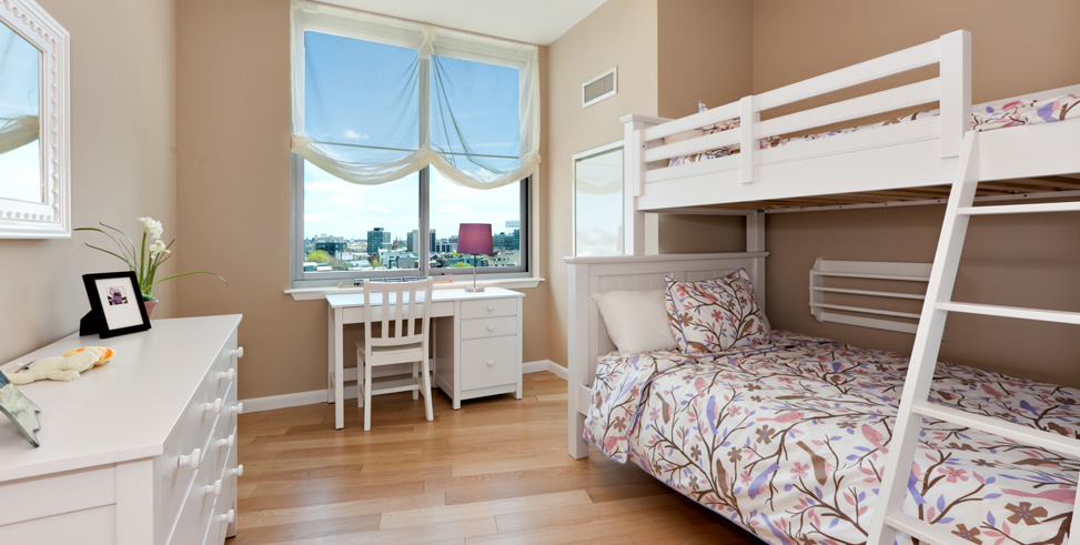 4630 Center Boulevard Bedroom, Luxury Rentals, NYC, Long Island City