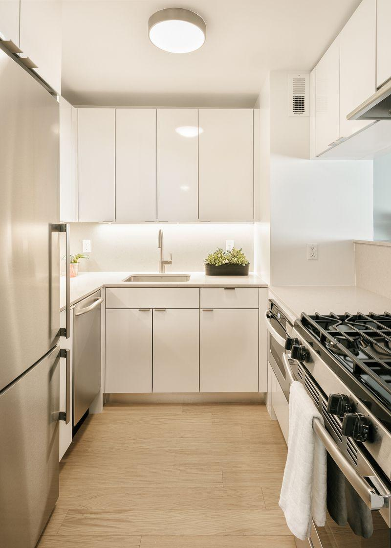 Kitchen at 470 Second Avenue Apartment